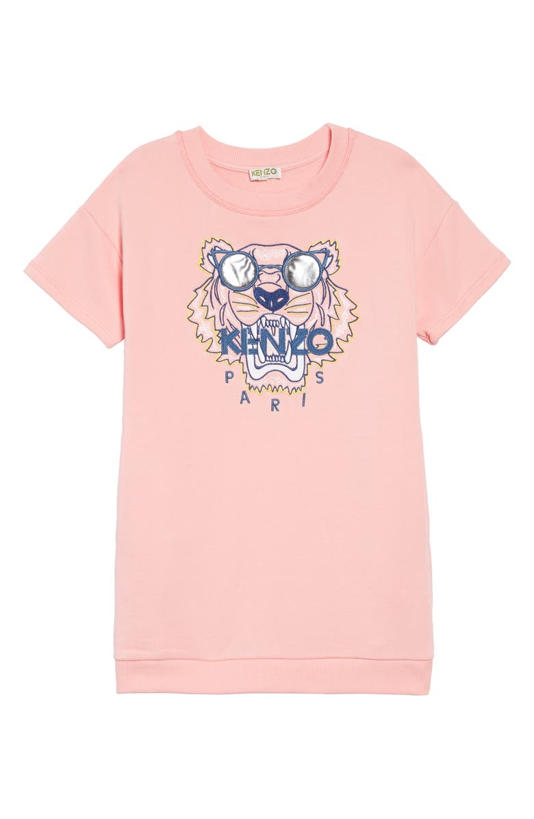 KENZO Tiger Graphic Dress, Main, color, 650