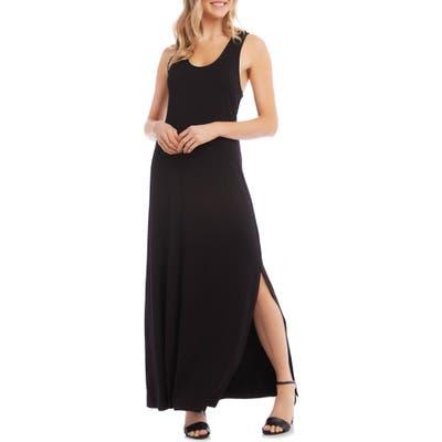 Karen Kane Cara Cross Back Maxi Dress, Black