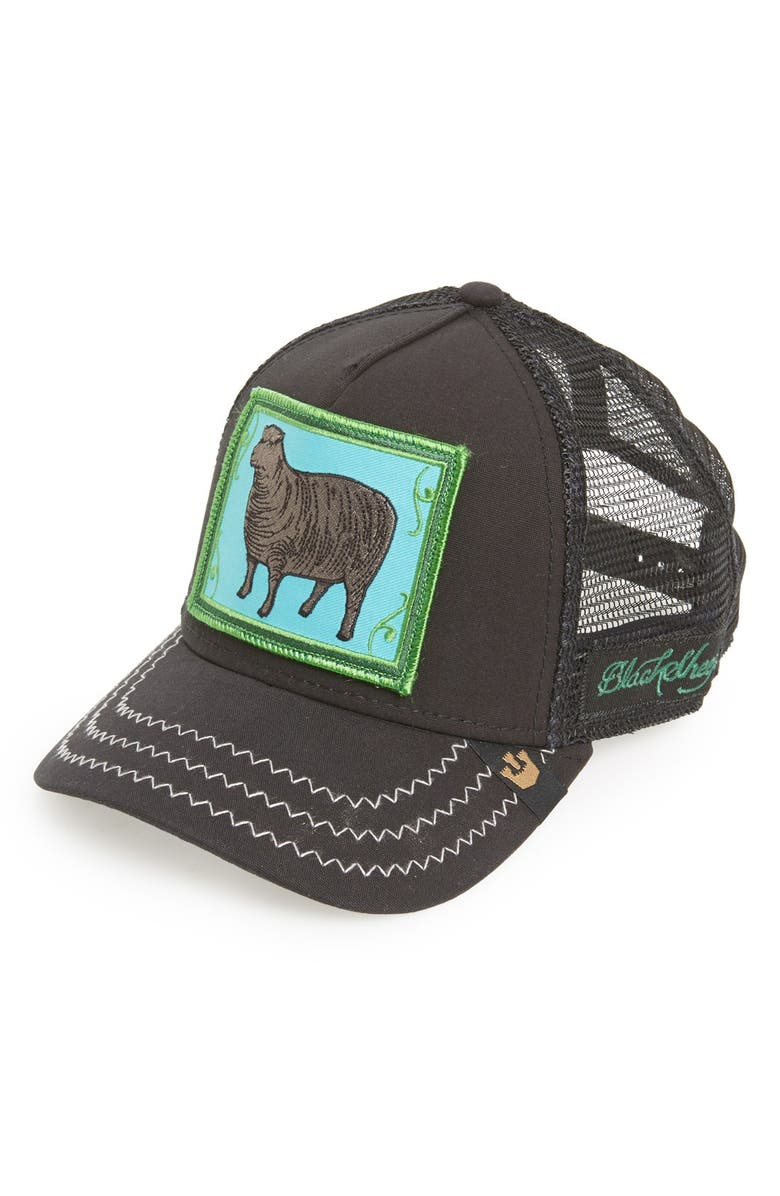 17c675fe468a6 Goorin Brothers  Animal Farm - Black Sheep  Trucker Cap