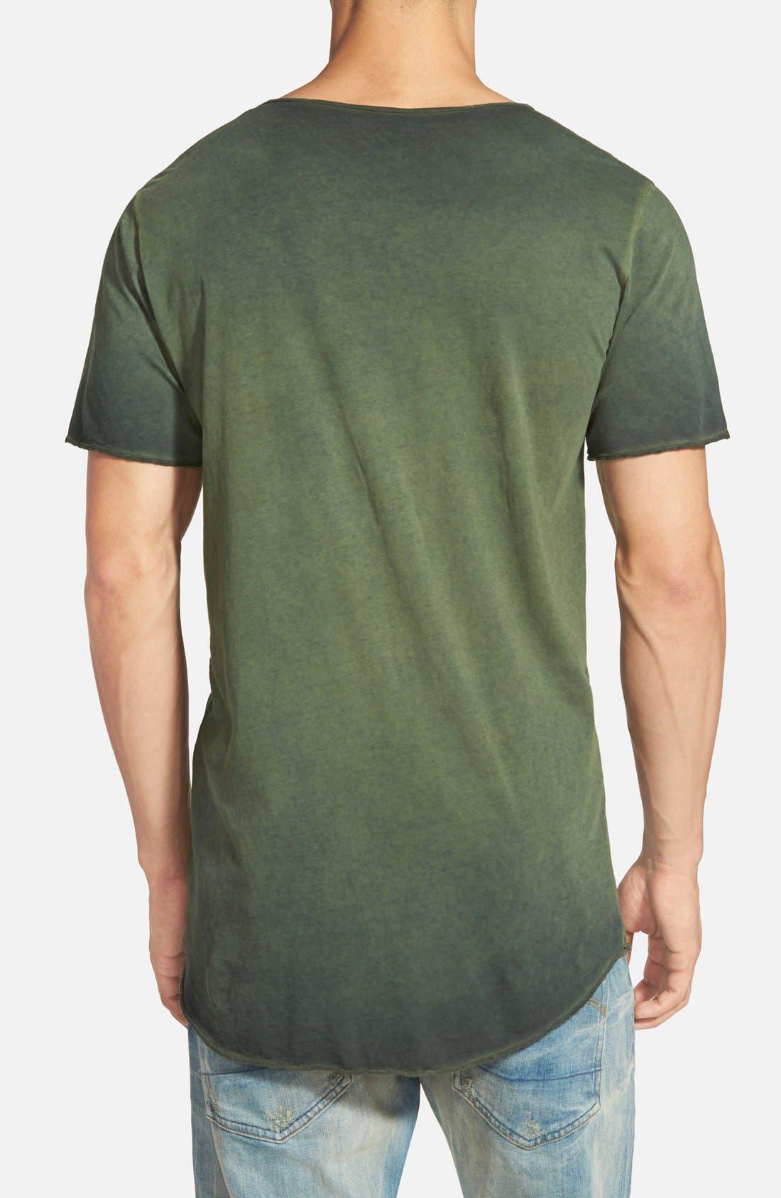 ,                             U-Neck T-Shirt,                             Alternate thumbnail 6, color,                             460
