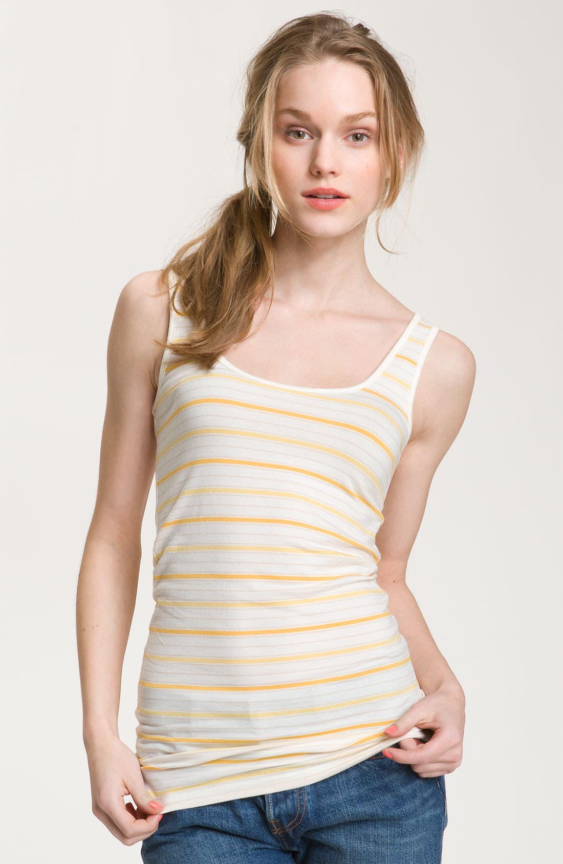 ,                             Double Scoop Neck Tank,                             Main thumbnail 340, color,                             900