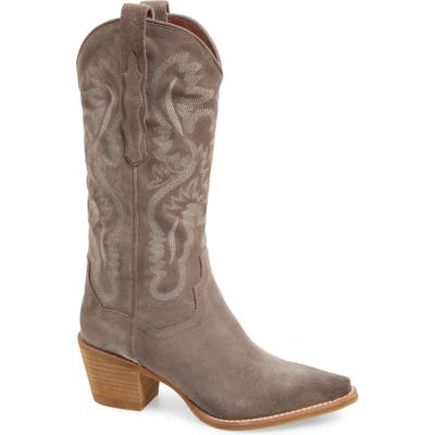 Jeffrey Campbell Dagget Western Boot- Beige