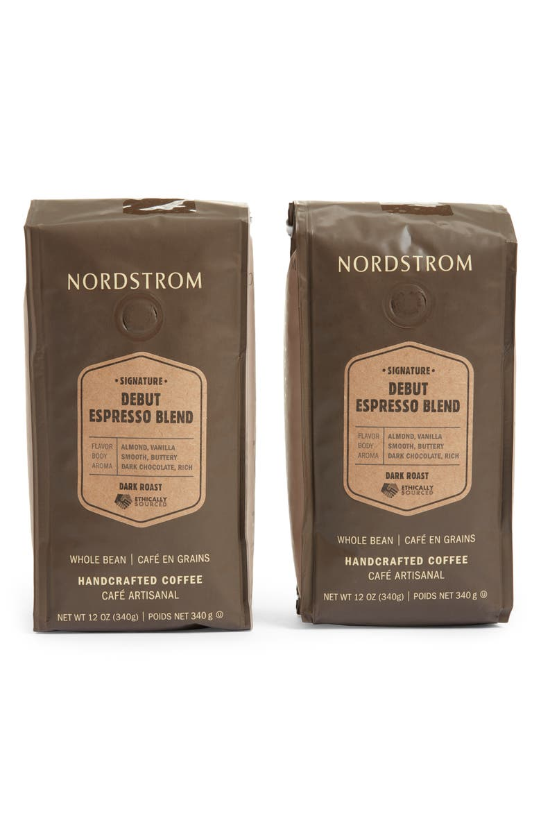 Ethically Sourced Debut Espresso Blend 2 Pack Whole Bean Coffee