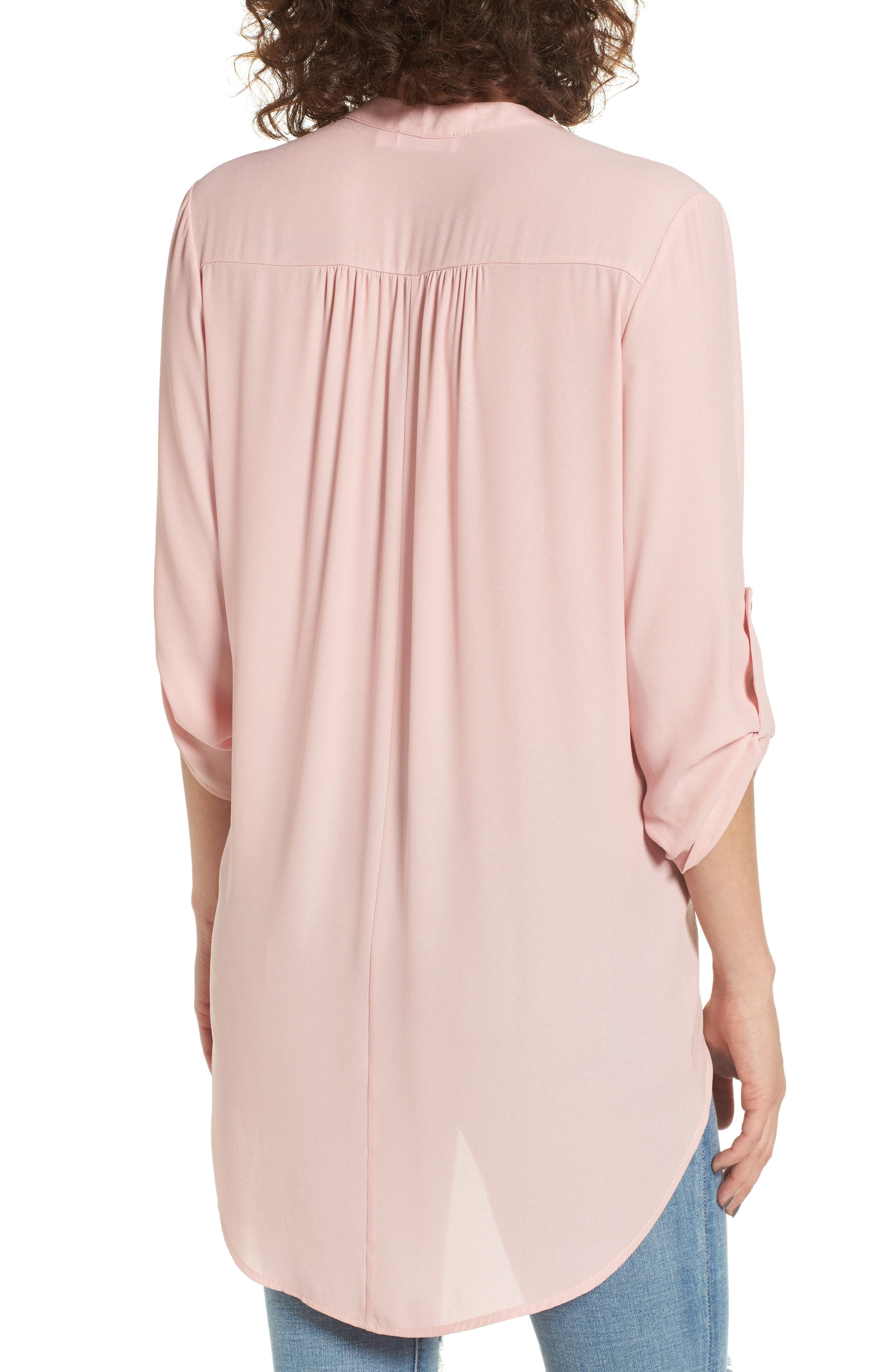 ,                             Perfect Roll Tab Sleeve Tunic,                             Alternate thumbnail 395, color,                             681