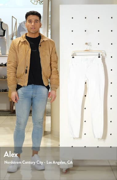 Good Legs High Waist Shark Bite Hem Skinny Jeans, sales video thumbnail