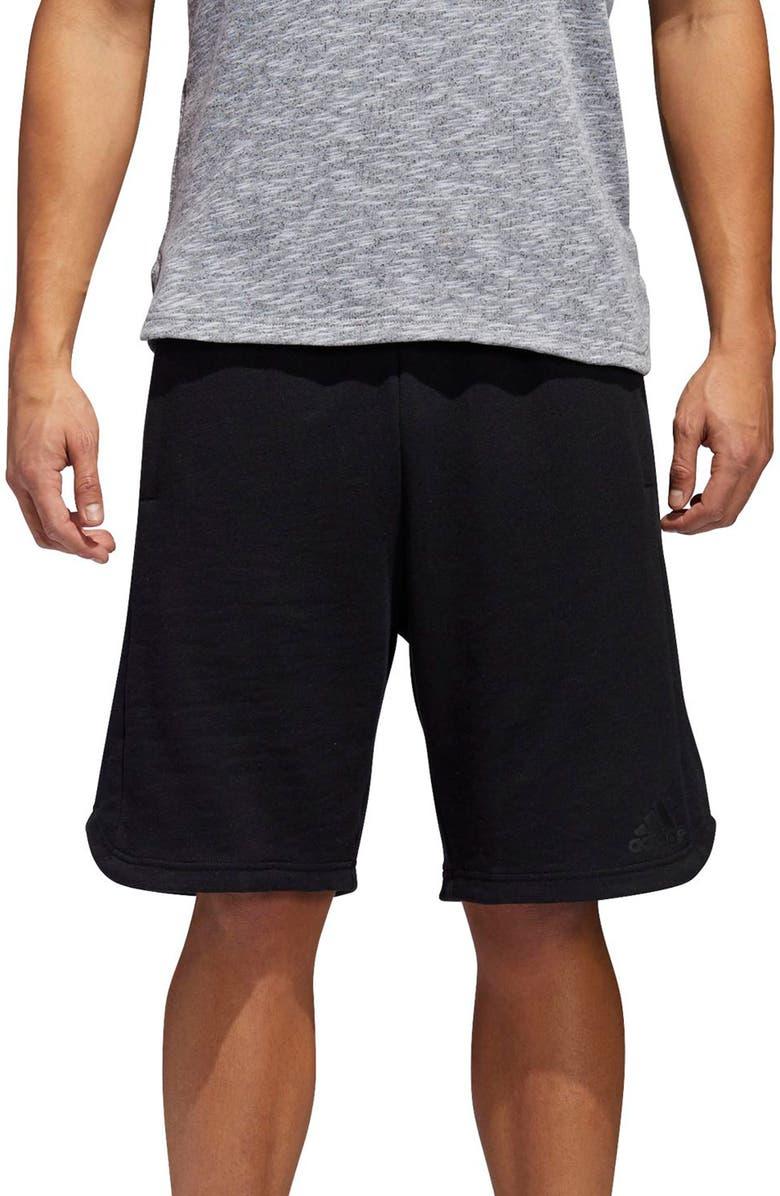 ADIDAS Pick Up Knit Shorts, Main, color, 001