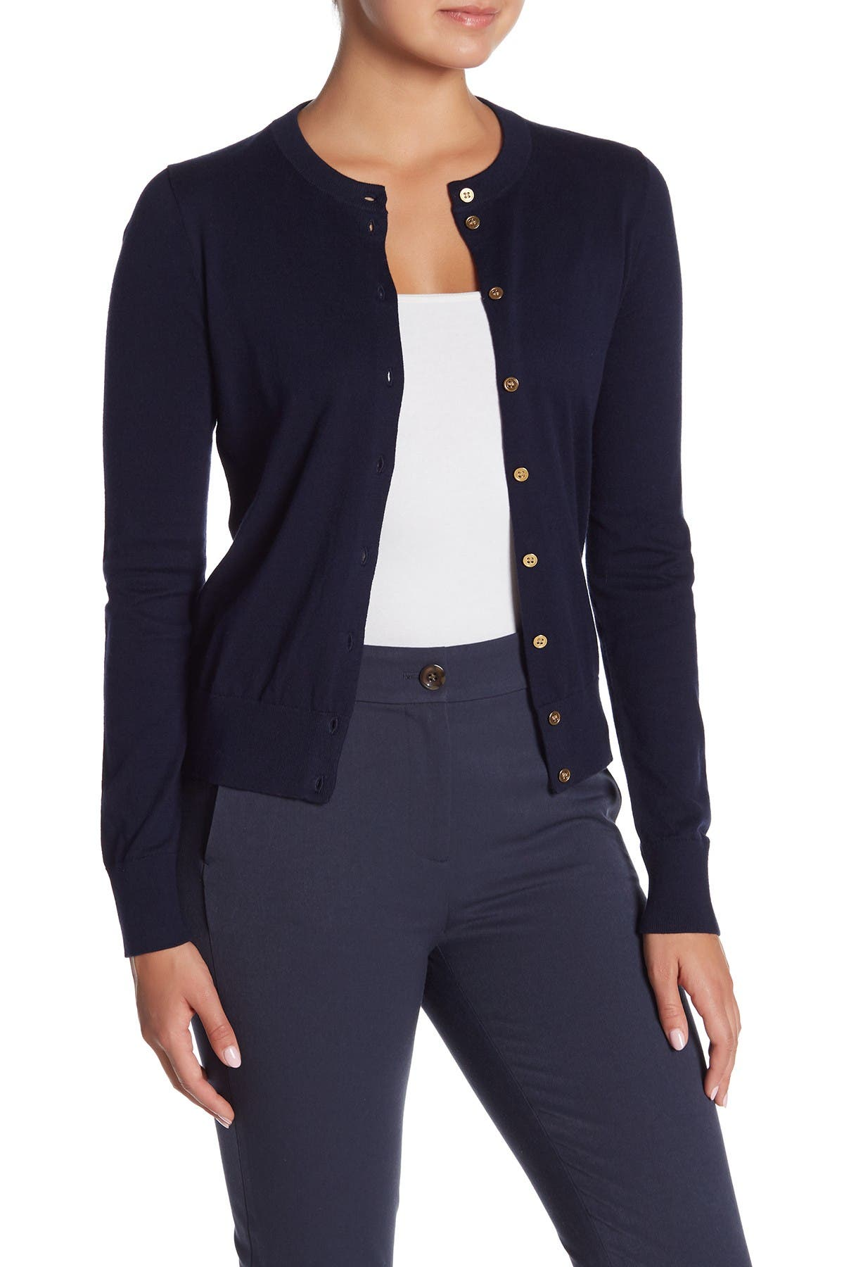 Image of J. Crew Front Button Knit Cardigan