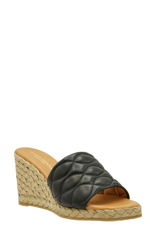 Andre Assous ANALISE ESPADRILLE WEDGE SANDAL