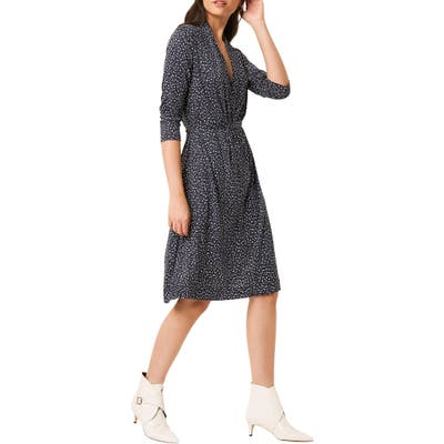 French Connection Jersey Dress, Blue