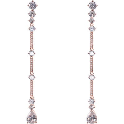 Nina Linear Bar Drop Earrings