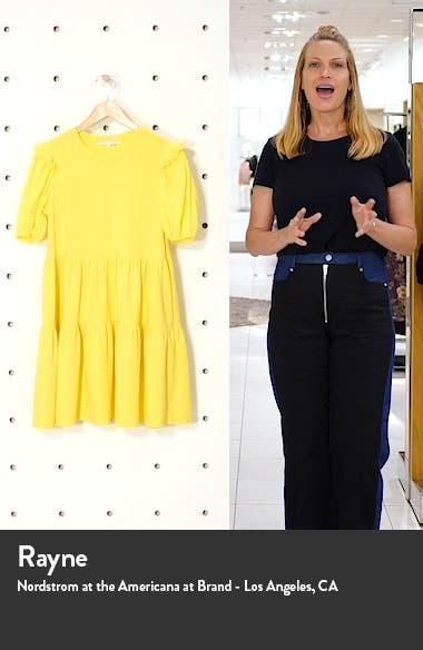 Eyelet Sleeve Knit Dress, sales video thumbnail