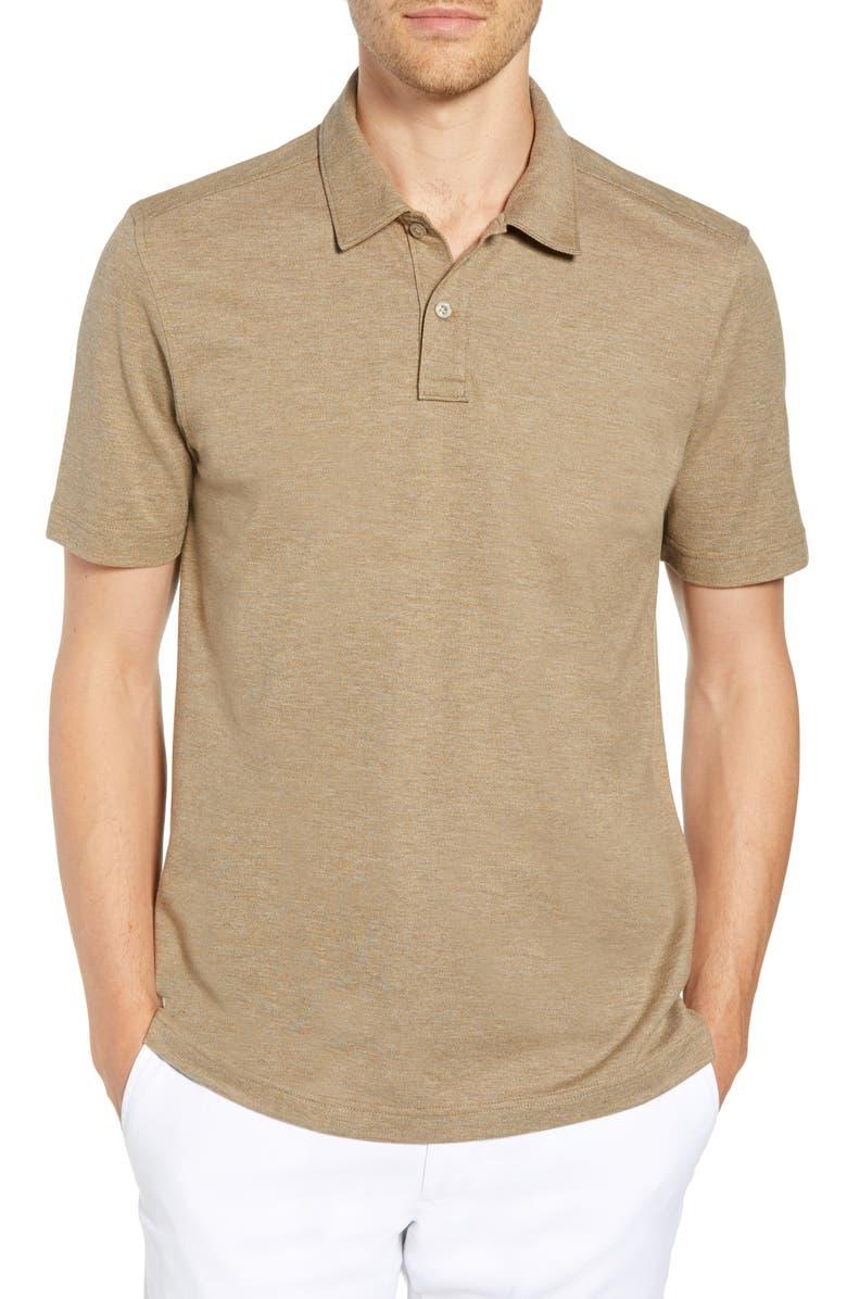 NORDSTROM MEN'S SHOP Regular Fit Polo, Main, color, 238
