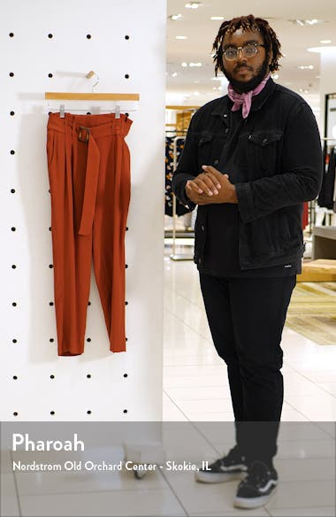 Belted Tapered Pants, sales video thumbnail