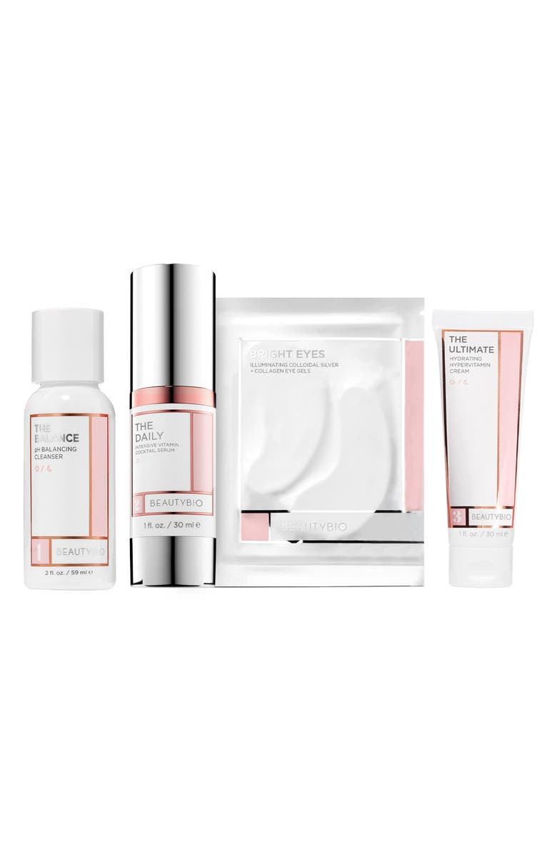 BEAUTYBIO The Daily Essentials Travel Size Skin Care Set, Main, color, 000