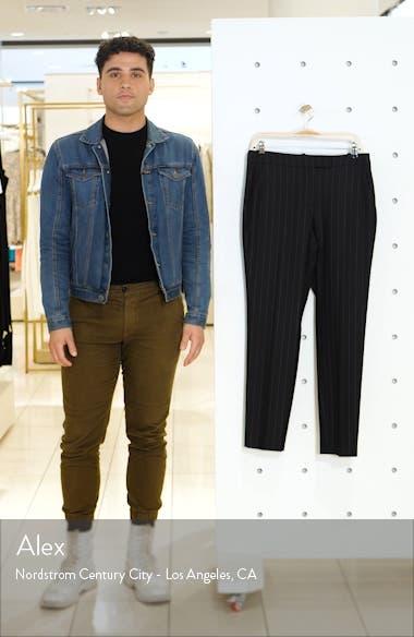 Clive Chalk Stripe Trousers, sales video thumbnail