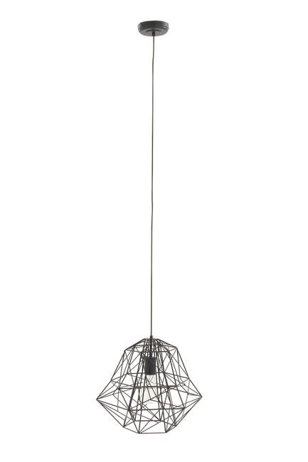 "Image of CosmoLiving by Cosmopolitan Metal 92"" Pendant Light"