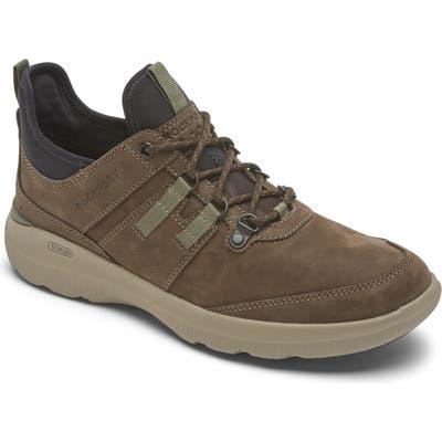 Rockport Truflex Hybrid Waterproof Sneaker, Brown