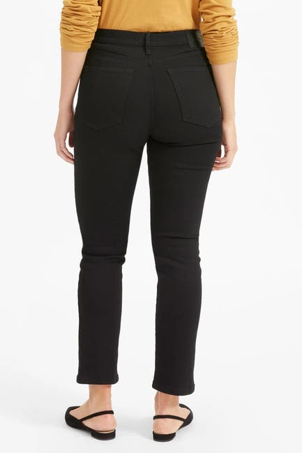Image of EVERLANE The Authentic Stretch High-Rise Cigarette Jeans