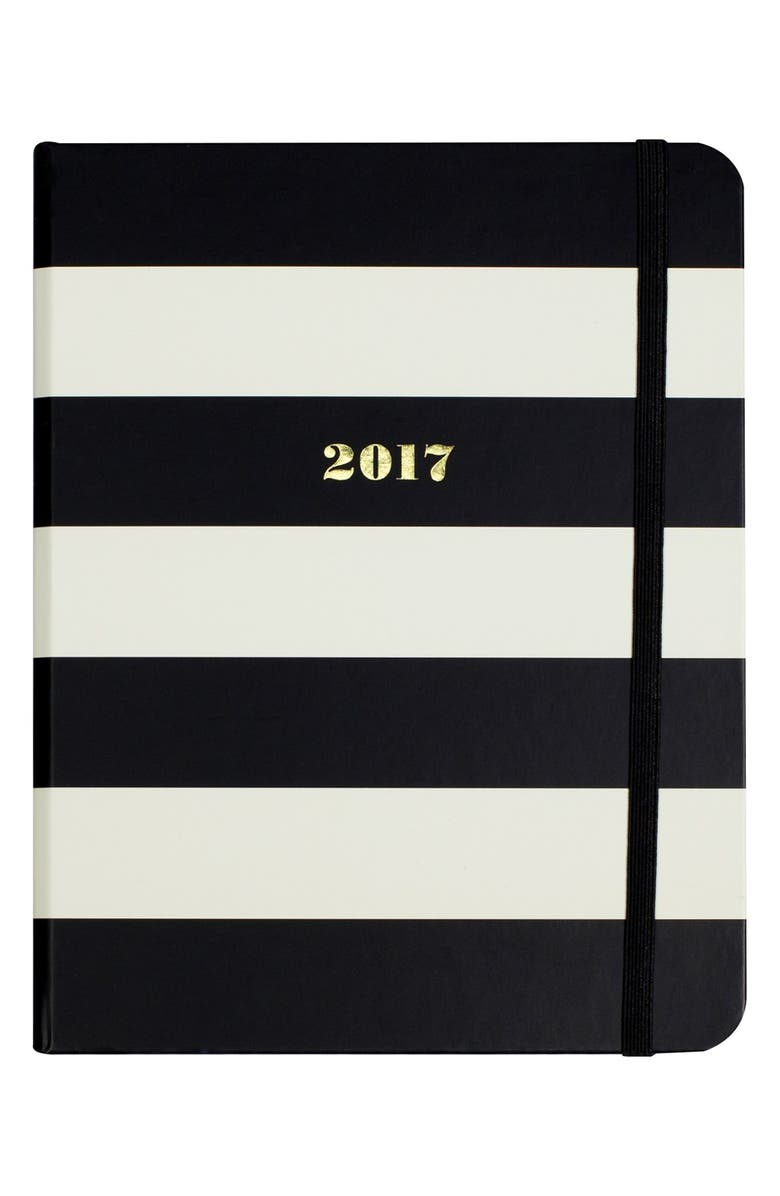 KATE SPADE NEW YORK medium 17-month agenda, Main, color, 001