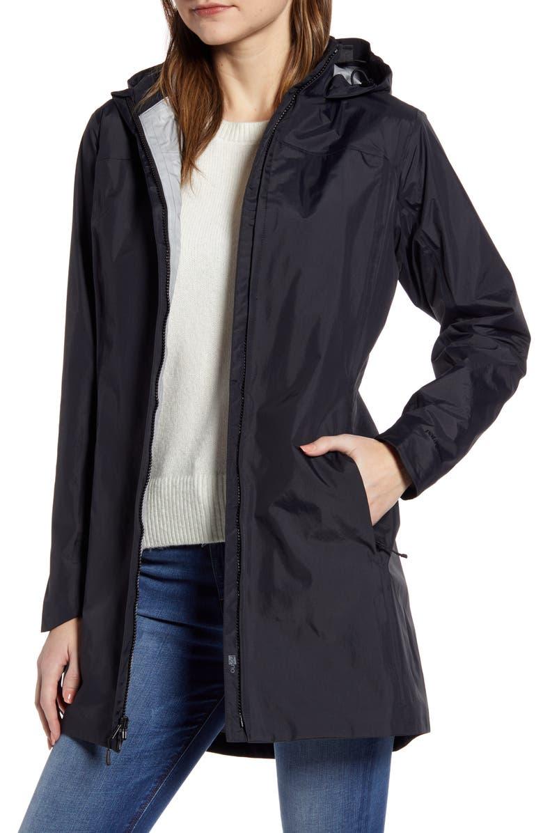 PATAGONIA Torrentshell Waterproof City Rain Coat, Main, color, BLACK