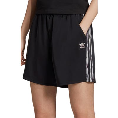 Adidas Originals Danielle Cathari Satin Shorts, Black