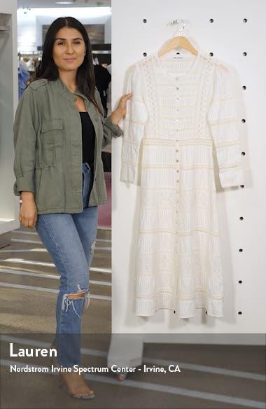 Elsie Long Sleeve Organic Cotton Dress, sales video thumbnail