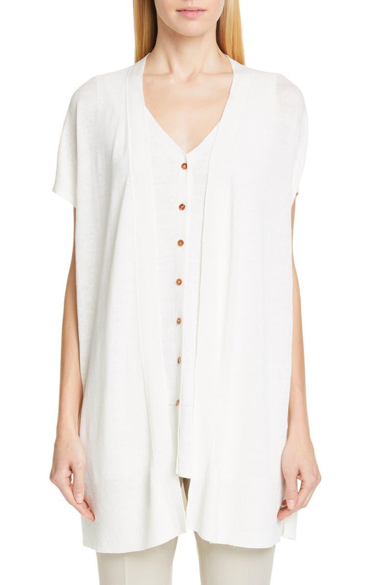 Linen Blend Sweater by Lafayette 148 New York