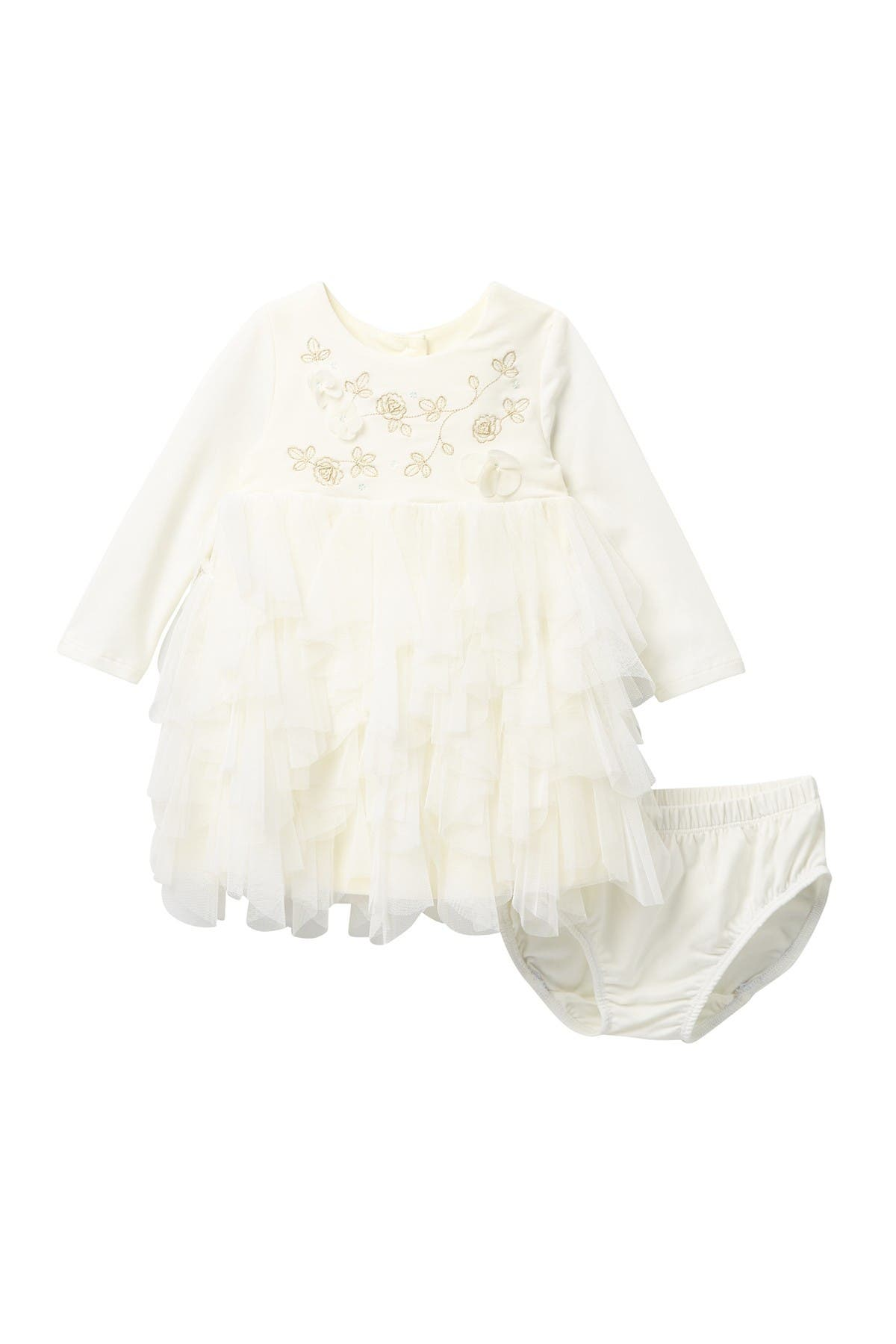 BISCOTTI Ruffled Dress Set