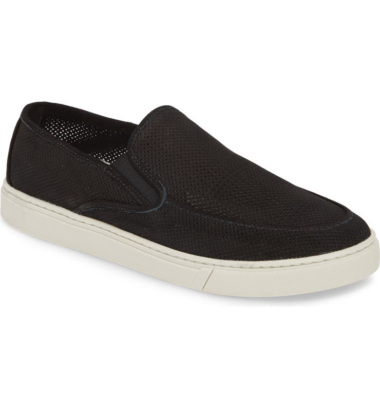 1901 Cruz Slip-On, Main, color, BLACK NUBUCK