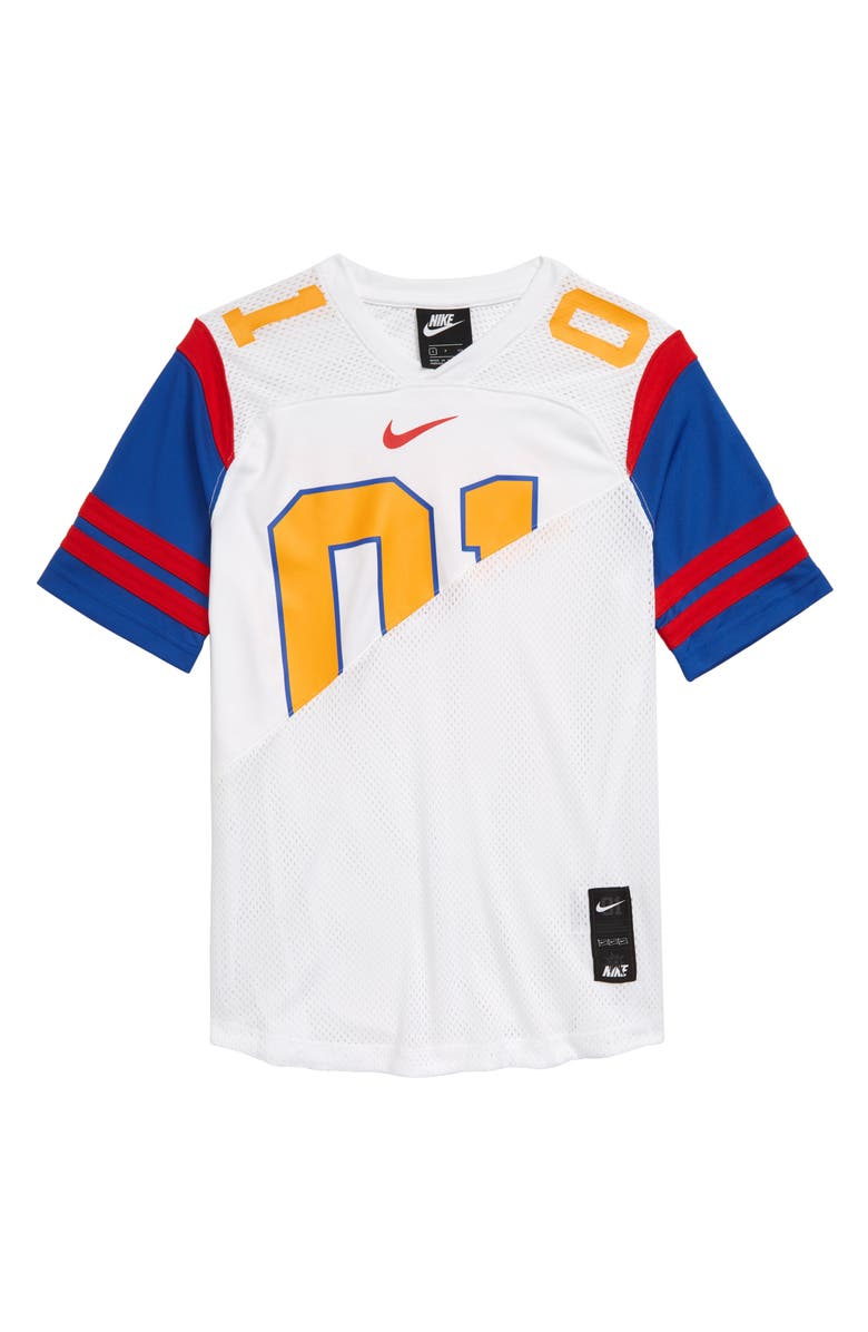 NIKE Dri-FIT Future Classic Jersey, Main, color, WHITE/ UNIVERSITY GOLD