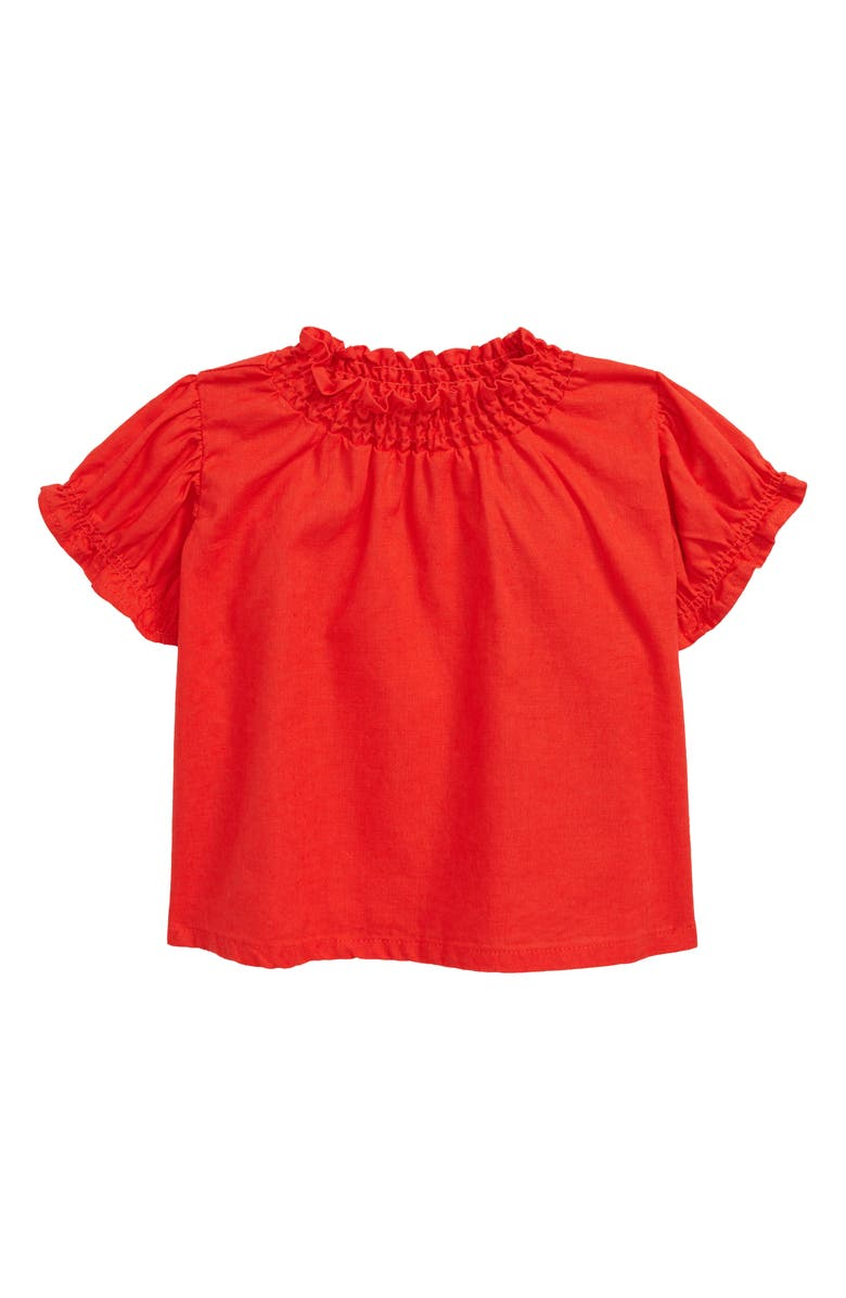 SEED HERITAGE Puff Sleeve Top, Main, color, 600