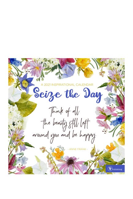 Image of TF Publishing 2021 Seize the Day Wall Calendar