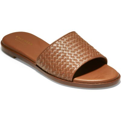 Cole Haan Analise Slide Sandal B - Brown
