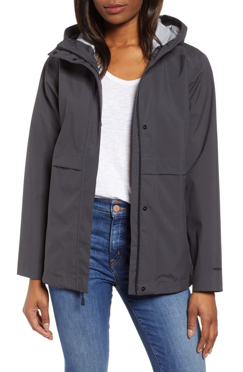 PATAGONIA Cloud Country Waterproof Jacket, Main, color, 001