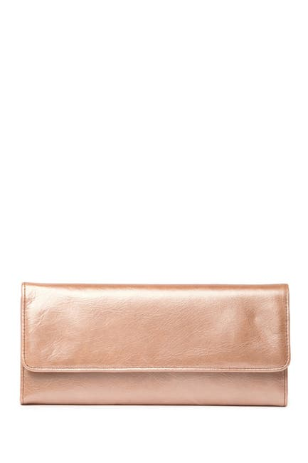 Image of Hobo Sadie Trifold Leather Wallet