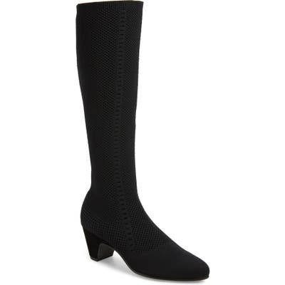 Eileen Fisher Keto Knee High Boot- Black