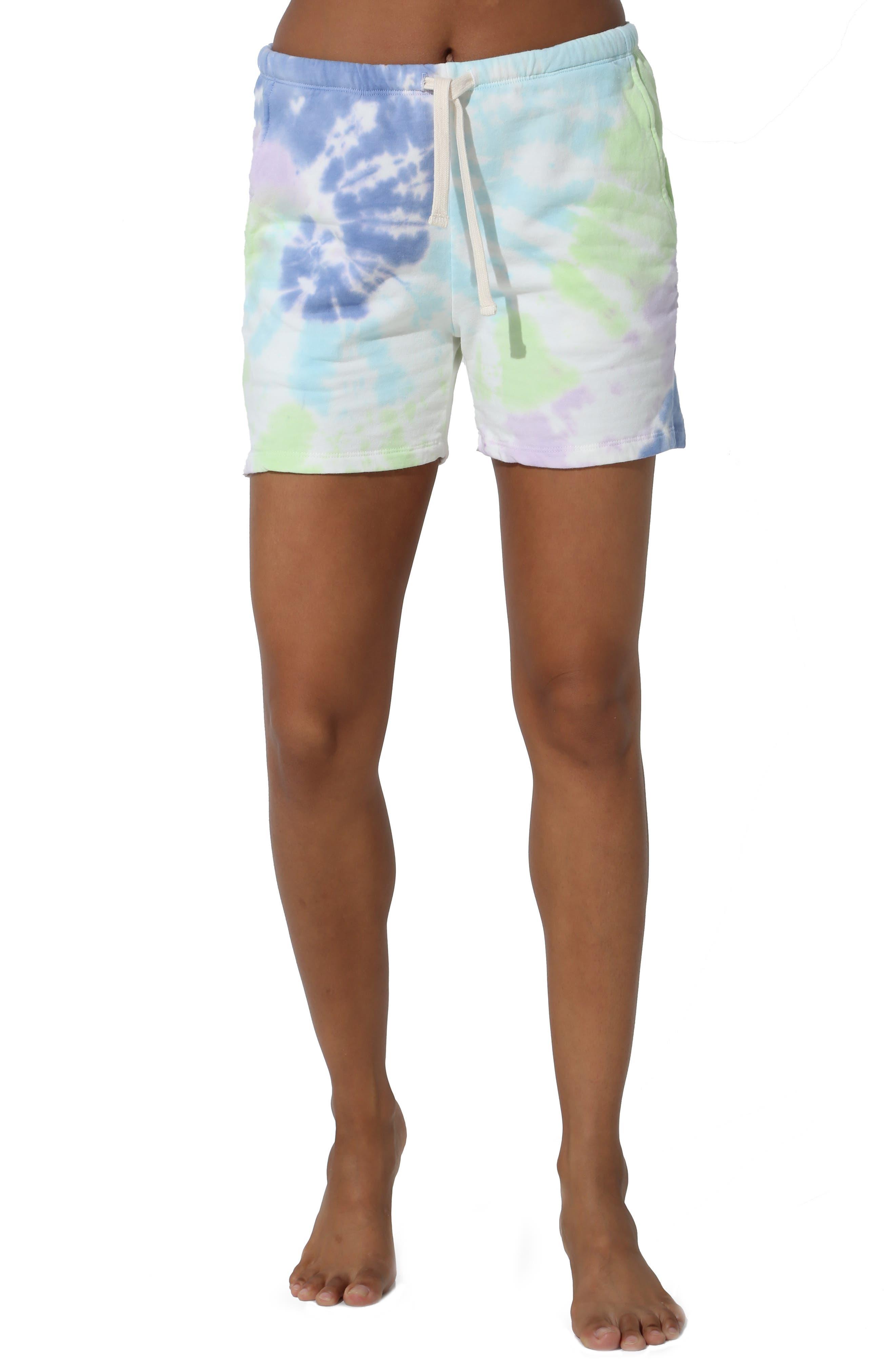 Charlize Tie Dye Aura Shorts