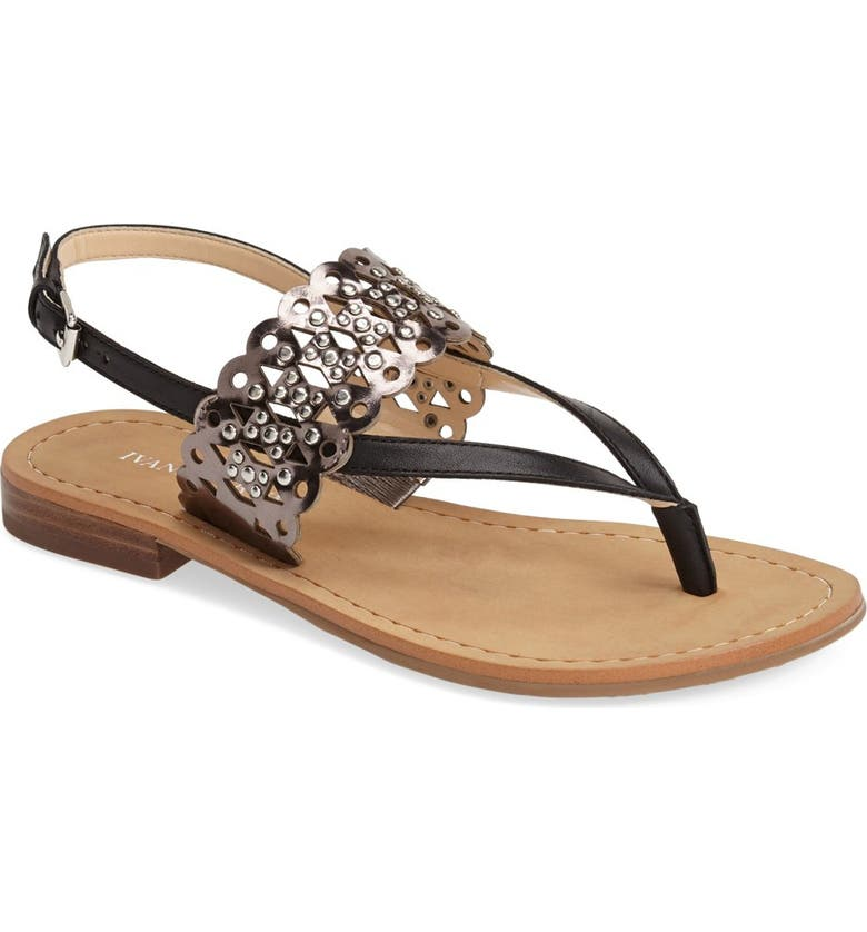 IVANKA TRUMP 'Pessie' Thong Sandal, Main, color, 002