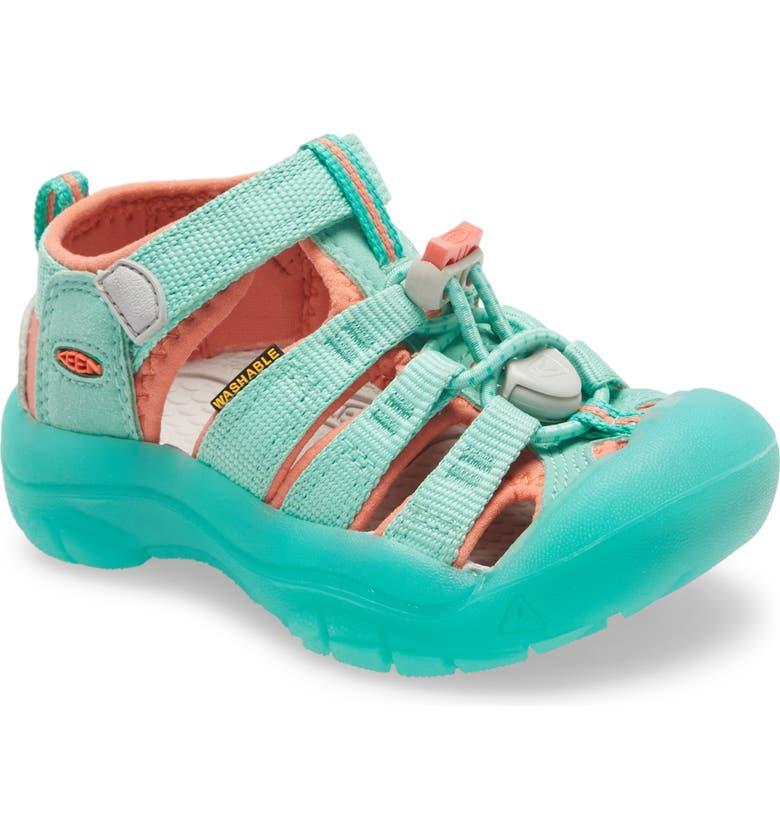 KEEN Newport H2 Water Friendly Sandal, Main, color, COCKATOO/ CORAL