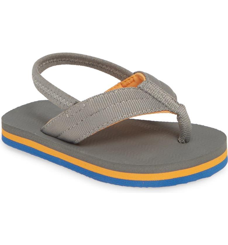 HARI MARI Dunes Thong Sandal, Main, color, GRAY