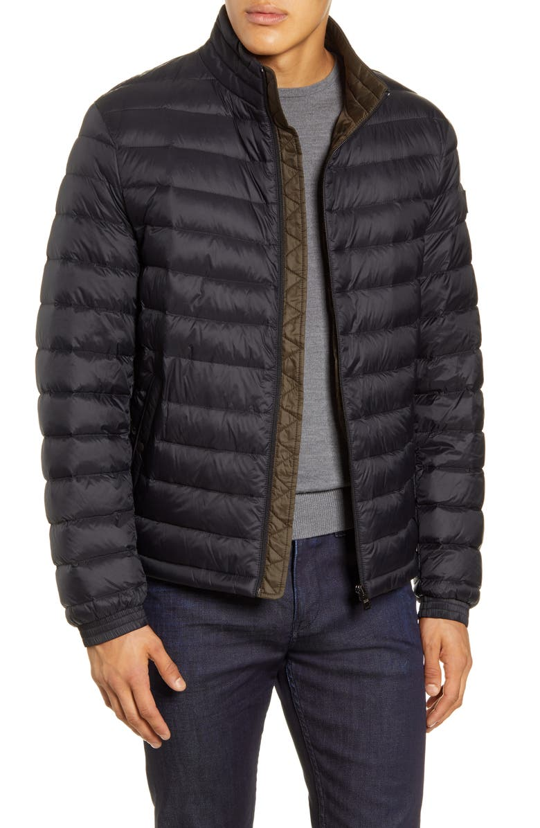 BOSS Chorus Quilted Jacket, Main, color, 001