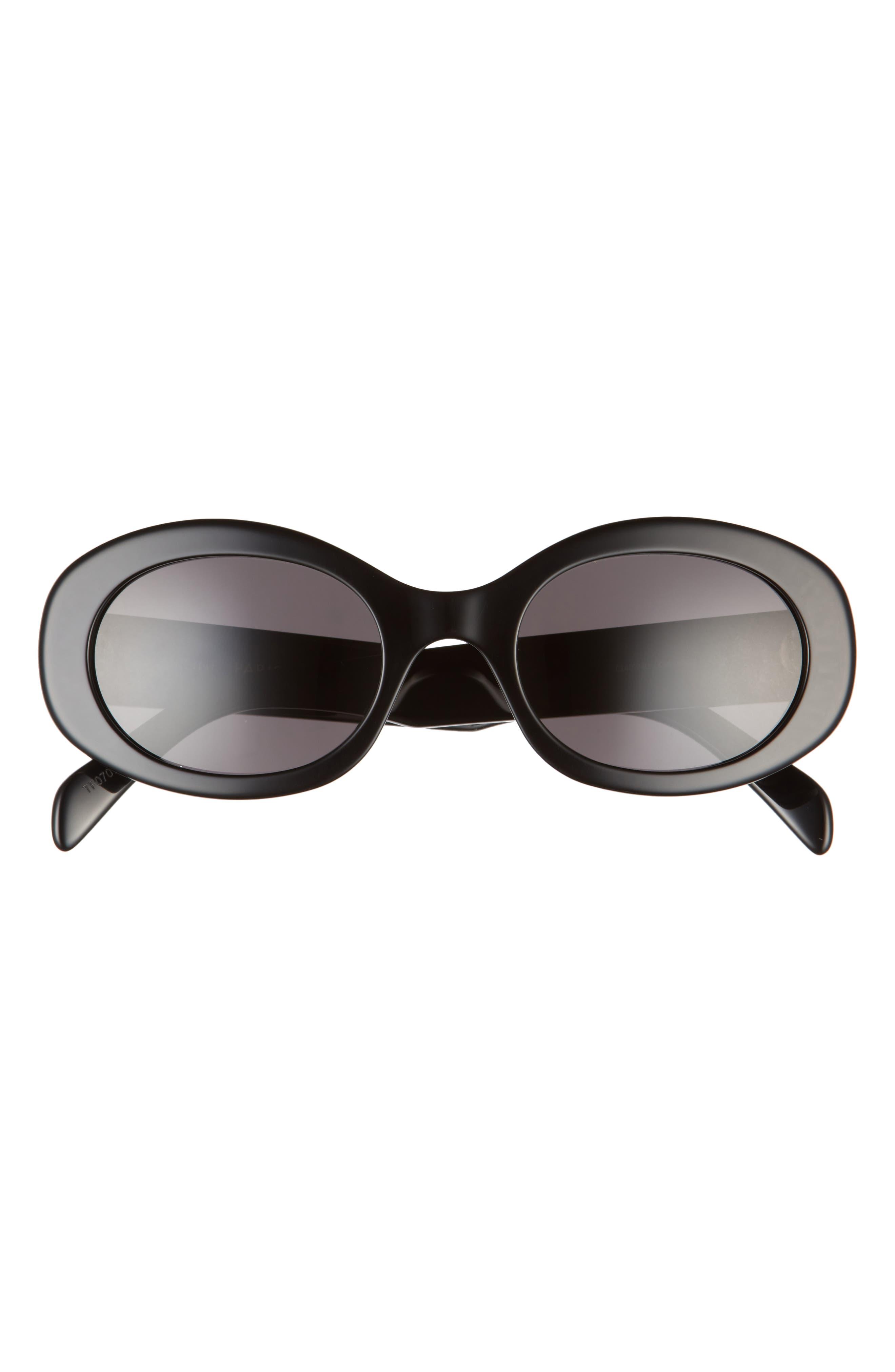 Triomphe 54mm Oval Sunglasses
