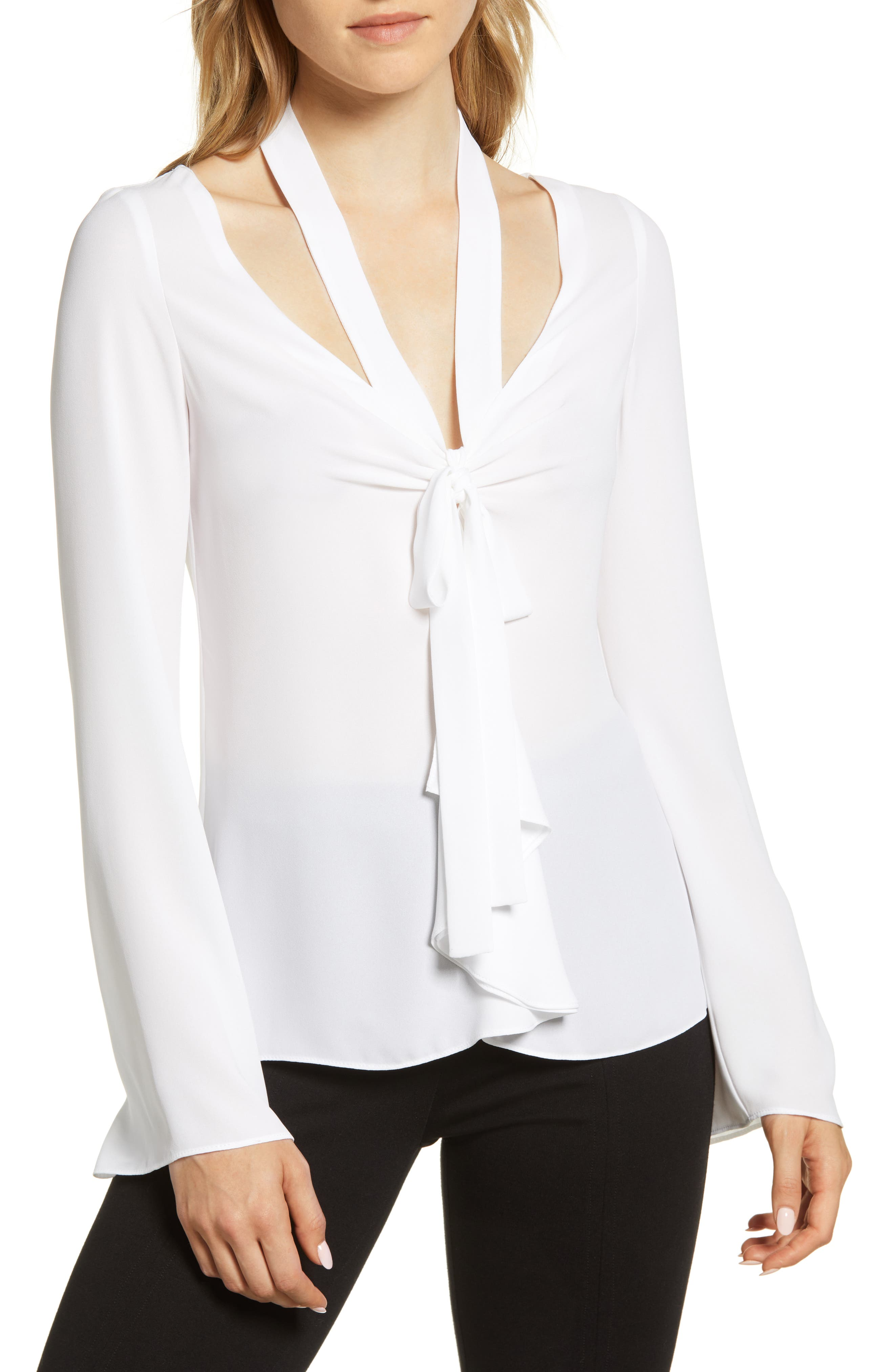 Bailey 44 Womens Ring My Bell Georgette Blouse