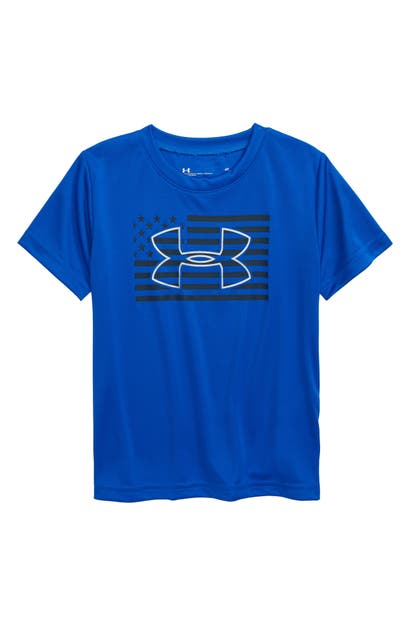 Under Armour FLAG LOGO PERFORMANCE GRAPHIC TEE