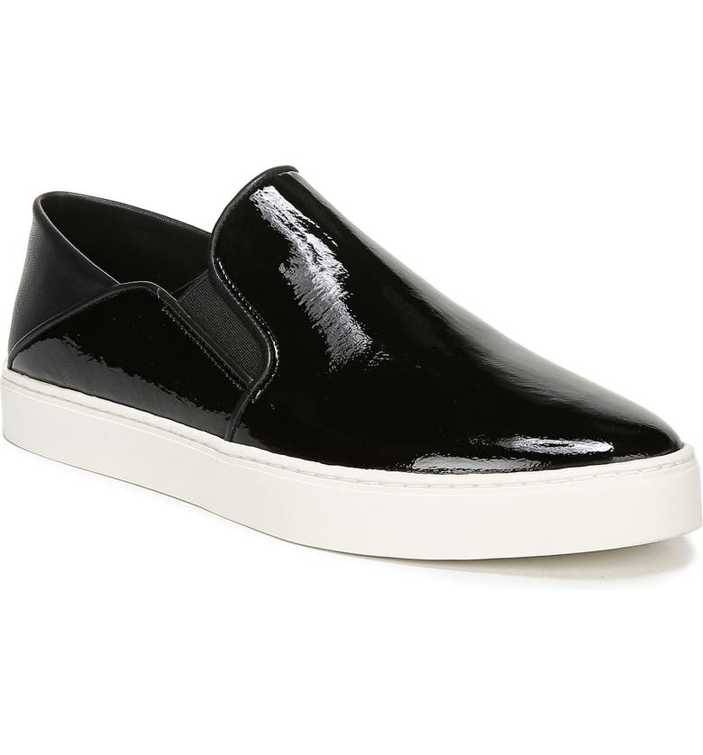 VINCE Garvey Slip-On Sneaker, Main, color, BLACK
