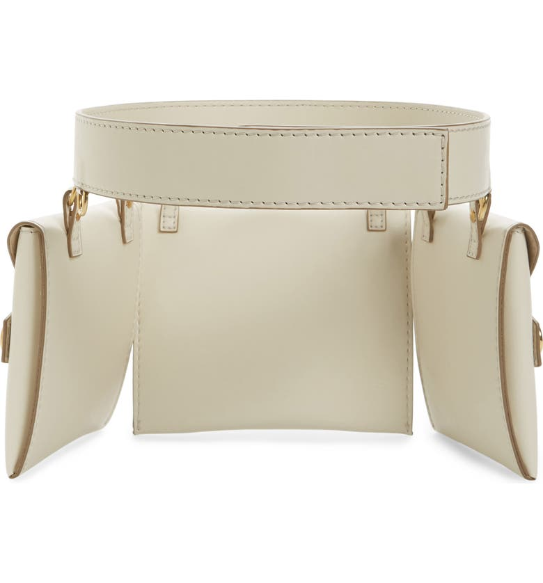 STELLA MCCARTNEY Faux Nappa Fanny Pack, Main, color, 102