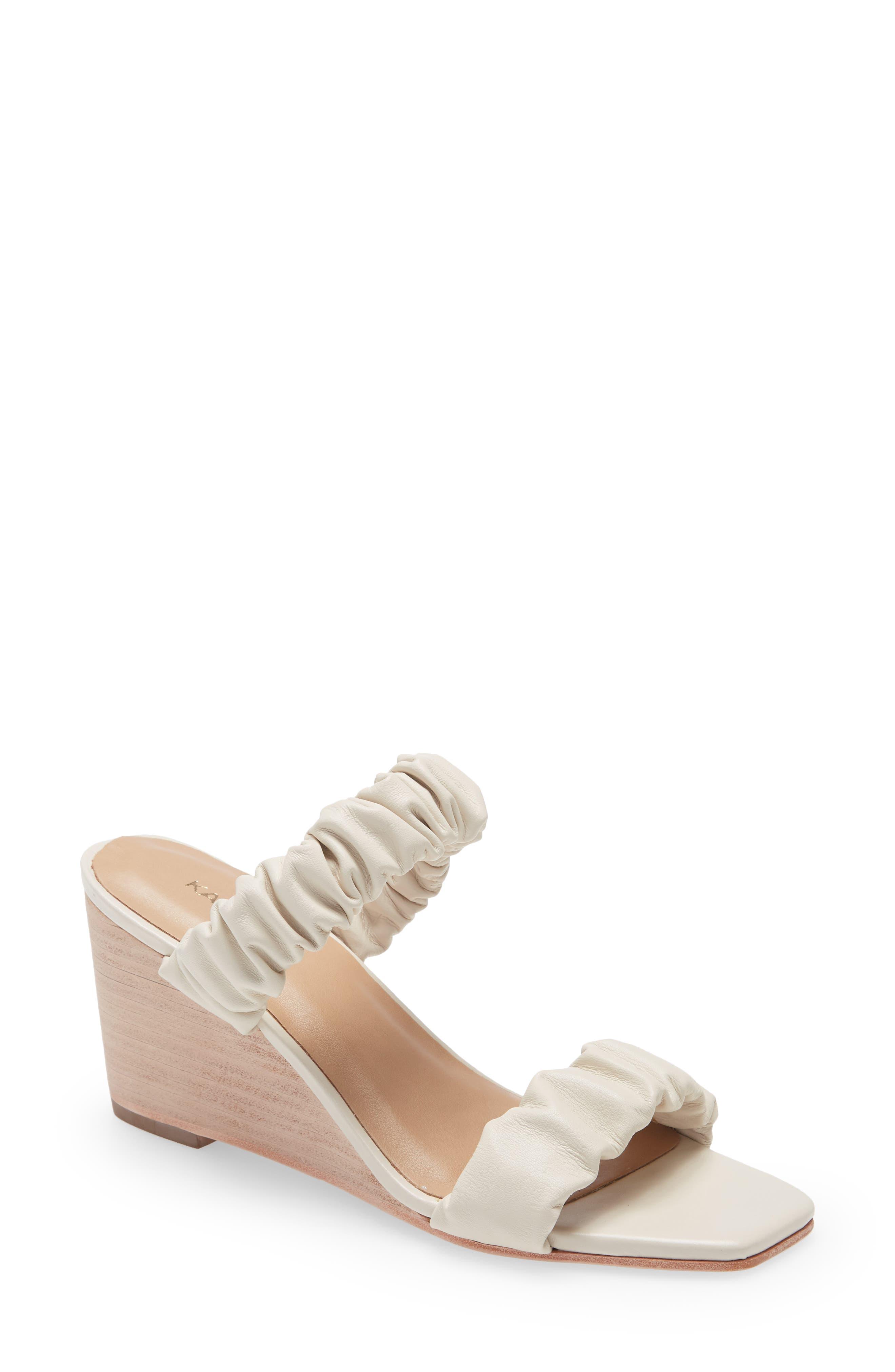 Alana Sccrunchy Wedge Slide Sandal