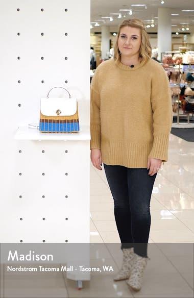 medium romy top handle satchel, sales video thumbnail