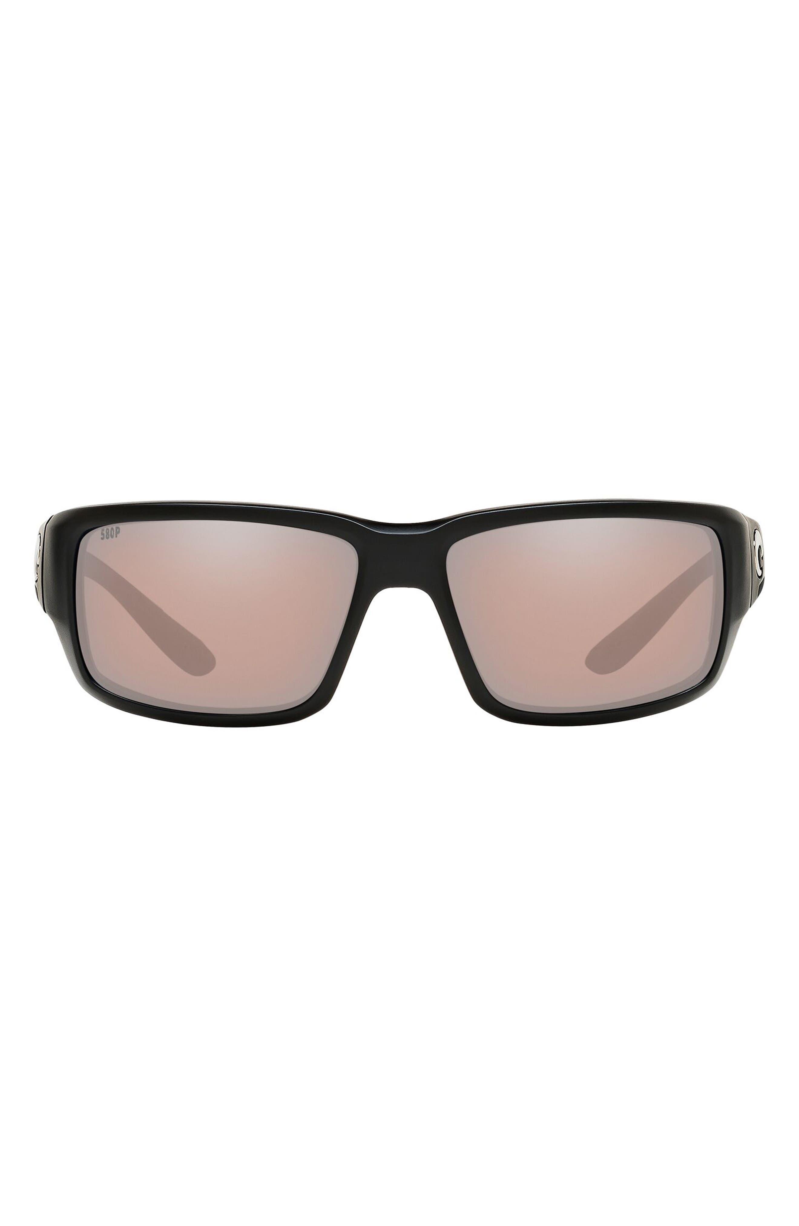 60mm Polarized Wraparound Sunglasses