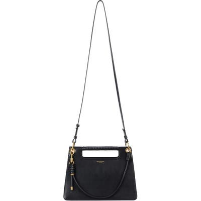 Givenchy Medium Whip Leather Top Handle Bag - Black